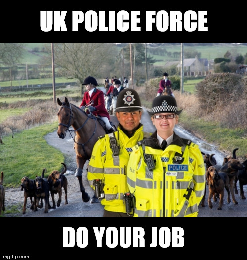 UK Police Force Do Your Job