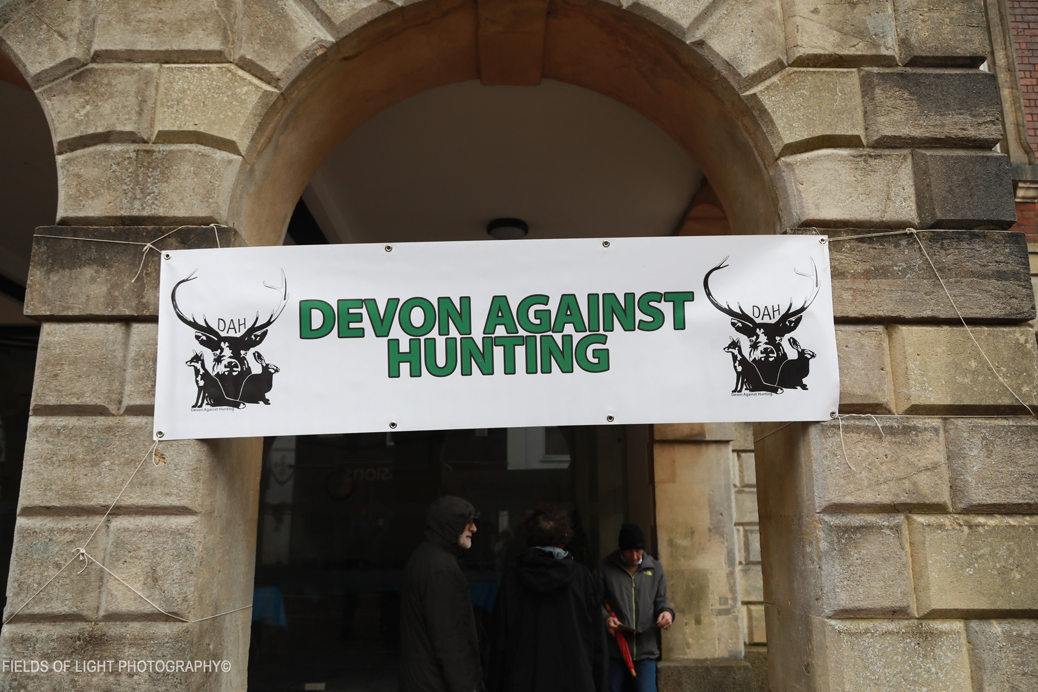 devon against hunting torrington town hall
